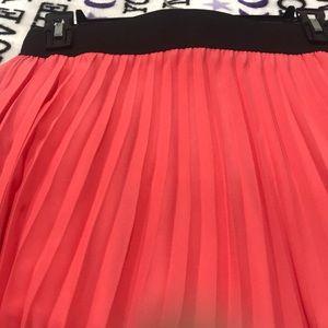 LUNA CHIC Skirts - LUNA CHIC orange 🔶pleated skirt